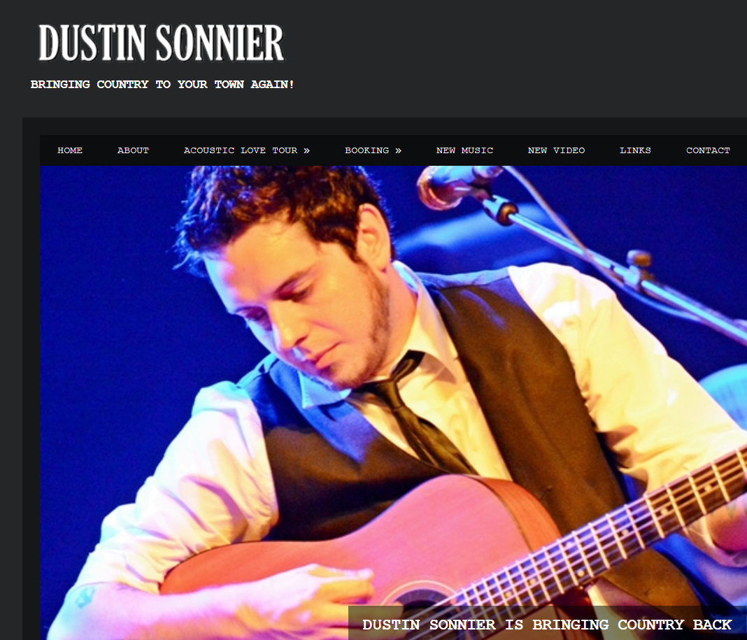 Real Country Music: Dustin Sonnier